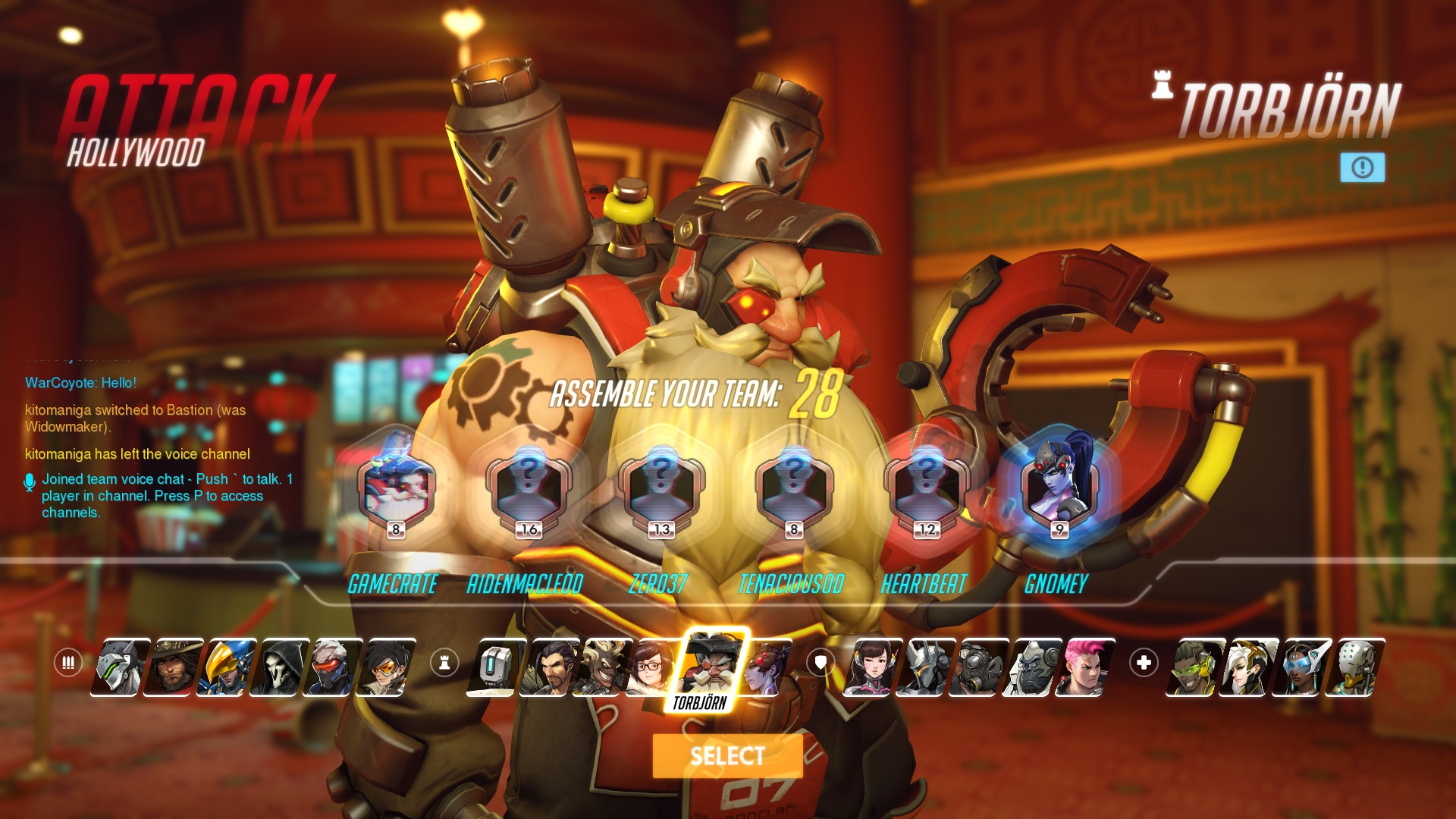 why Torbjörn and Widowmaker on ATTACK? // source: gamecrate.com
